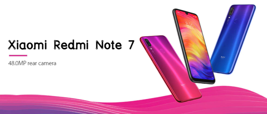 Black Friday 2019 Deals: Xiaomi Redmi Note 7  Smartphone Images
