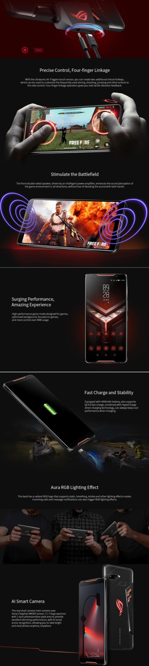 Black Friday Asus Best Deals - ASUS ROG ZS600KL Gaming Phone