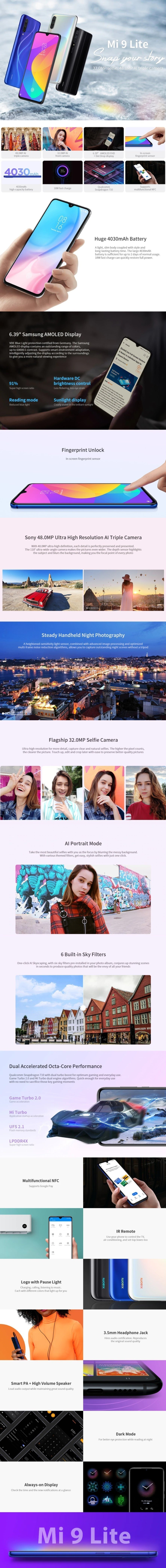 Black Friday Sale Xiaomi Mi 9 Lite