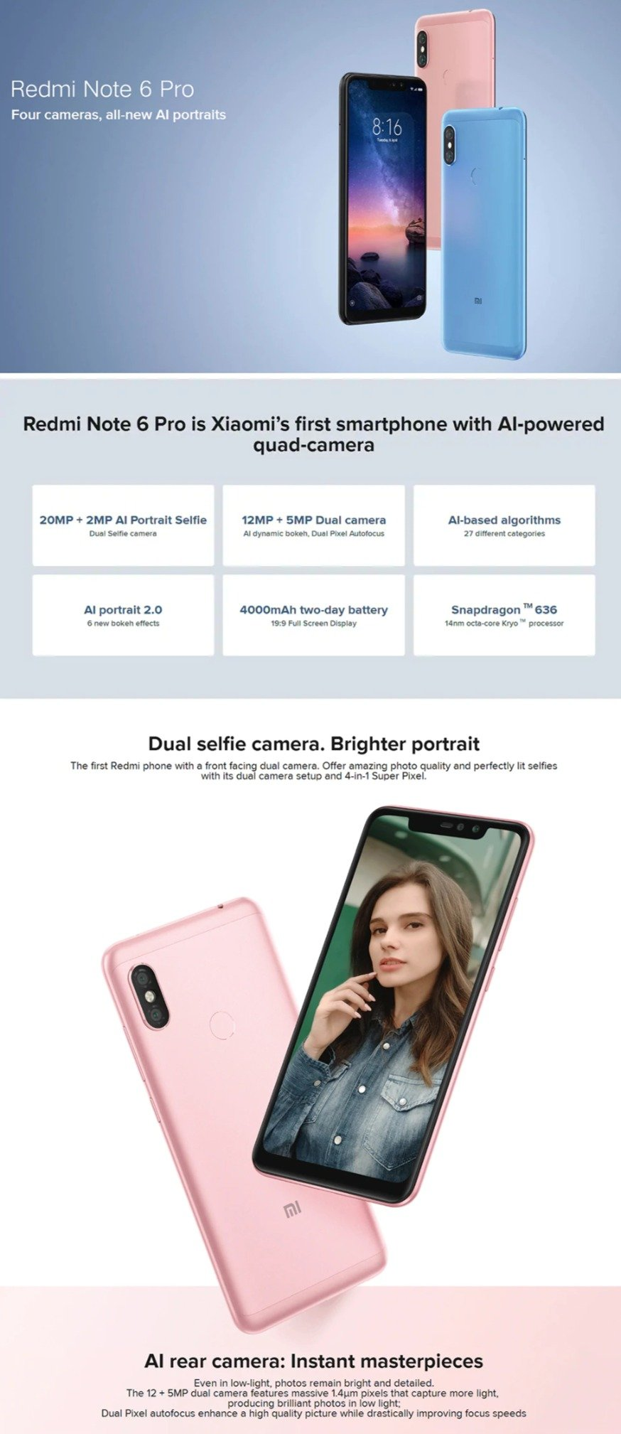 Black Friday Xiaomi Sale - Redmi Note 6 Pro