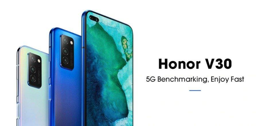 Christmas deals 2019 - HUAWEI Honor V30 5G Phablet