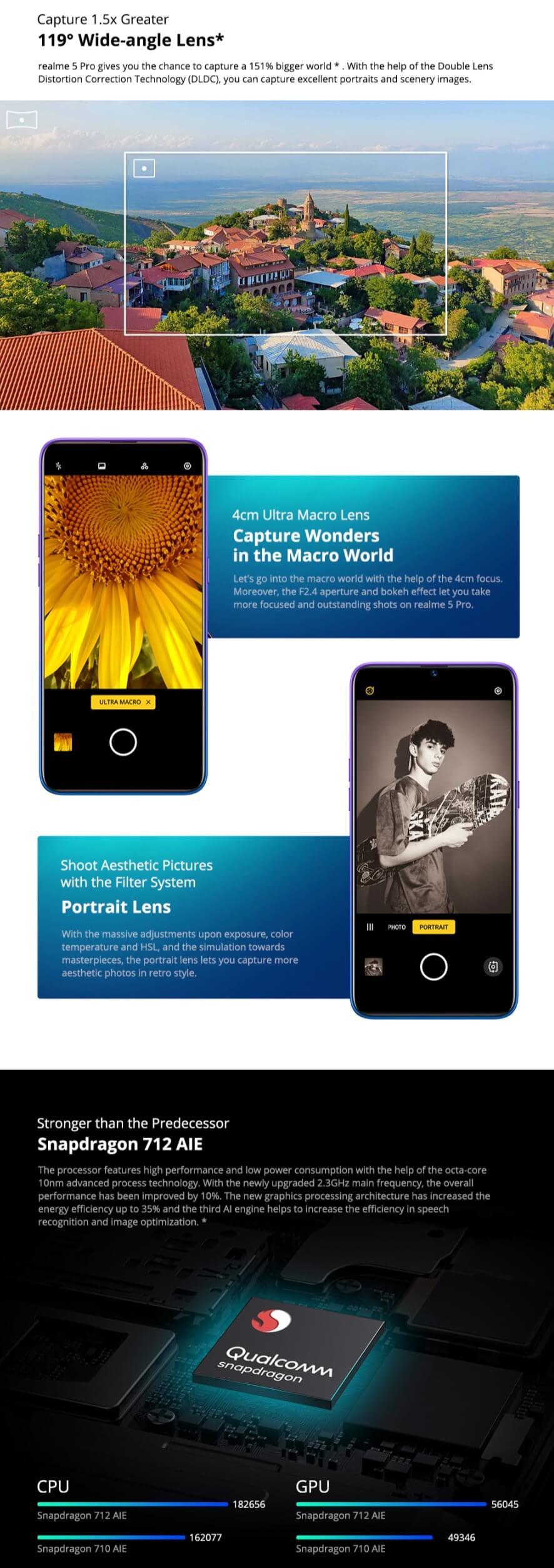 OPPO Realme 5 Pro 4G Smartphone Deals 2020