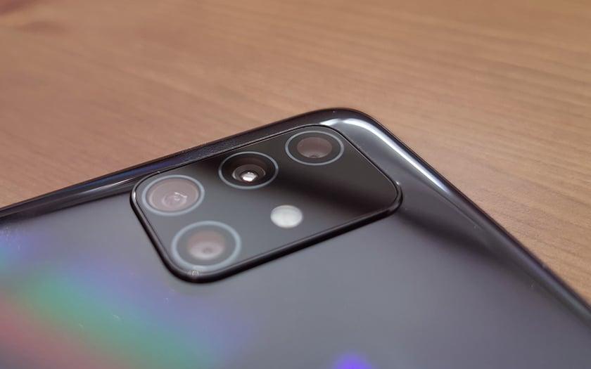 Samsung Galaxy A51 camera