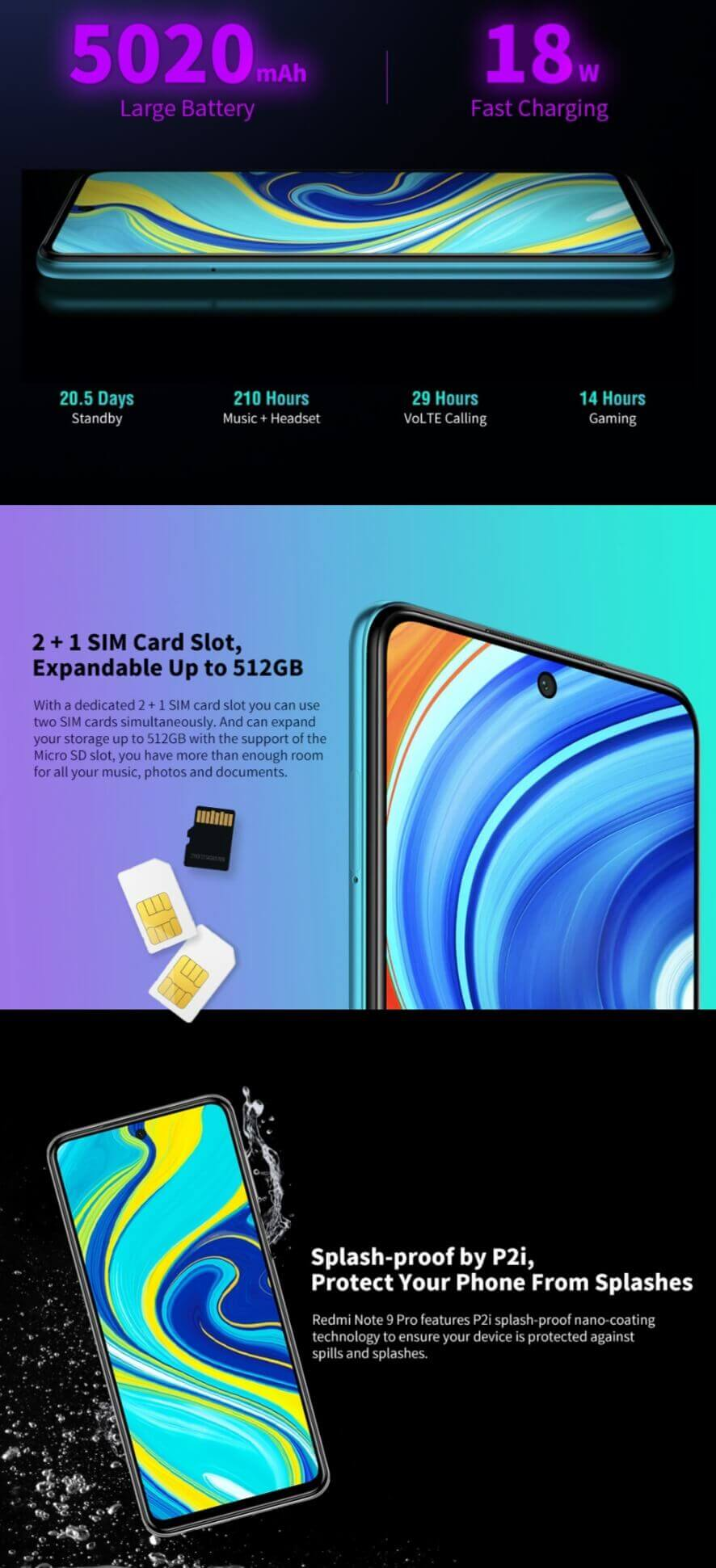 Xiaomi Redmi Note 9S Smartphone Big Sale